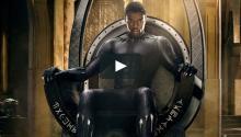 Imagen del film Black Panther, el film protagonizado por un superhéroe negro que arrasta en las taquillas de todo el mundo. Foto: captura de imagenVimeo