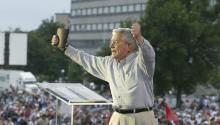 Luis Palau falleció el pasado jueves en Portland, Oregón, a los 86 años de edad.Photo: Wikicommons.