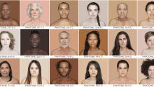 El proyecto 'Humanae' de la artista Angélica Dass emplea la clasificación cromática para luchar contra los estereotipos. Photo: Angelica Dass (
