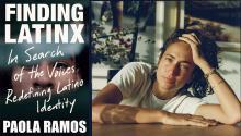 Paola Ramos, autora de Finding Latinx('Latinx', en edición española).