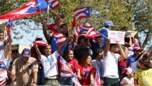 Día de acción por Puerto Rico en Filadelfia