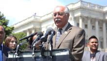 Representative Ed Pastor, Democrat for Phoenix. Photo by Salvador Rodriguez.