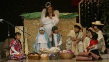 La organización Casa Monarca llevó a cabo por primera vez en la ciudad esta tradición navideña mexicana. Foto: AL DÍA News