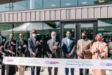The ribbon cutting ceremony for the Philabundance Community Kitchen took place on Sept. 22, 2020. Photo courtesy of Philabundance.