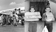 """""""De poquito a poquito, para no levantar muchas sospechas en La Habana, fueron llegando los niños y las niñas cubanas"""", Ileana Fuentes. Photo:"""