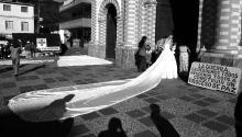 The marriage of Beatriz and Oscar Granada,Antioquía, Colombia, Dec. 9 2002. Photo courtesy of Jesús Abad Colorado