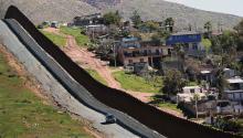 EL DEPARTAMENTO DE Seguridad Nacional está construyendo 12.5 millas de muro fronterizo secundario como parte de la Orden Ejecutiva de Mejoras de Seguridad Fronteriza y Aplicación de la Ley de Inmigración de Presient Donald Trump para construir una nueva cerca a lo largo de la Frontera Sur. Foto: Sandy Huffaker/Getty Images