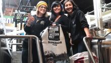 Dos Californias Brewsters creates a meeting space for women brewers from California and Baja California to share recipes, laughs, and beers. Photo: Courtesy of Dos Californias Brewsters