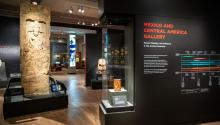 The new Mexico and Central America gallery features 250 artifacts. Photo: Courtesy of the Penn Museum
