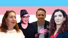 What does it mean to be transgender? let Transgender comedians, transgender veterans, transgender politicians tell you who they are