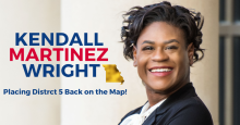 Photo: Kendall Martinez-Wright Campaign Website
