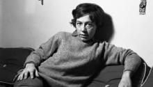 Alejandra Pizarnik. Photo: Archivo Flia d'Amico-Digisi / Editorial Huso.