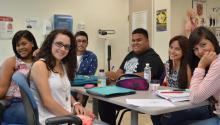 Estudiantes de la Universidad Interamericana de Puerto Rico