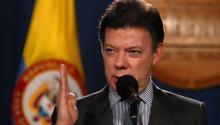 President Juan Manuel Santos. EFE