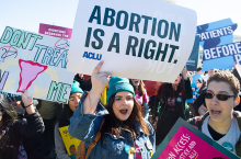 Abortion is a right. Photo: Saul Loeb/Getty Images