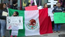Philly residents demand Peña Nieto's resignation