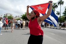 Protests have taken over Cuba in recent weeks. Photo: AFP