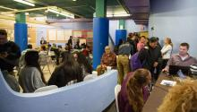 Facilities at the Disaster Assistance Center that serves the victims of Hurricane Maria in Philadelphia, located at 3201 N. 5th St. Philadelphia, PA 19140. Photo: Samantha Laub / AL DÍA News