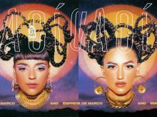 """Album cover, """"Vacío."""" Photos: LissyElle"""