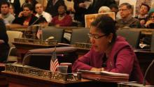 El año pasado la concejal María Quiñones-Sánchez presentó las primeras audiencias sobre necesidades de acceso equitativo de idioma. AL DÍA News