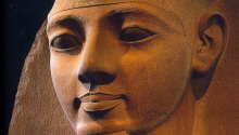 'Ozymandias', the title of Percy Bysshe Shelley's poem, was the Greek name for Pharaoh Ramesses II.
