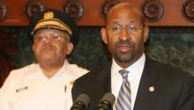 Commissioner Charles Ramsey and Mayor Michael Nutter. Photo: AL DÍA Archive