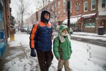 Raúl Berríos and Asaf Berríos. Photo: Samantha Laub / AL DÍA News