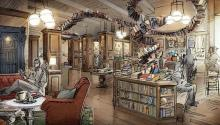 "This will be the new Drama Book Shop in New York, designed by the ""Hamilton"" set designer David Korins."