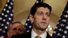 House speaker Paul Ryan. Photo: YURI GRIPAS / REUTERS