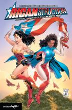 Cover of Ricanstruction. Photo courtesy of the author.