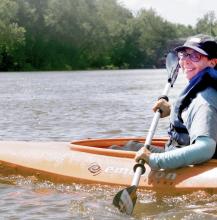 Los asistentes al festival del Río Delaware podrán participar en actividades en el agua, como remar en kayak.