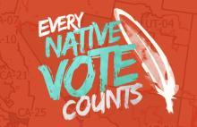 Photo: Native Vote Twitter
