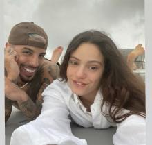 Rosalía & Rauw Alejandro. Image from Instagram.