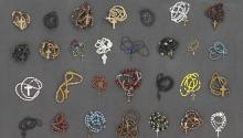 Rosaries confiscated from detained immigrants. Photo: Thomas Kiefer/Institute