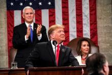 "U.S. President Donald Trump on Tuesday boastedofan administration that has produced an ""unprecedented economic boom"" during hisStateoftheUnionaddress to Congress. EFE"