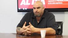 John Fetterman ran for U.S. Senate in 2016.