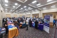 Eager job seekers at the 2019 AL DÍA Philadelphia Diverse City Career Fair. Photo: Ed Newton