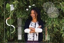 Jessica Bellamy is an artist and designer with a focus on data storytelling and social justice, based in Louisville, Kentucky. Photo Courtesy of Jessica Bellamy.