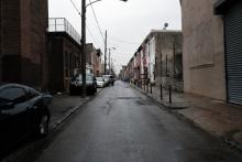 Buildings stand in the neighborhood where the West Kensington Ministry operates a food pantry supported by the non-profit Small Things on March 24, 2021 in Philadelphia, Pennsylvania. Photo:Spencer Platt/Getty Images.