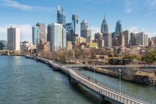 Philadelphia city skyline: Getty Images