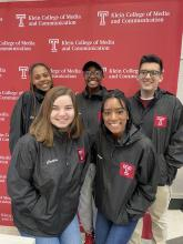 The 2020 Temple Bateman Competition Team. Photo Courtesy of Temple University.