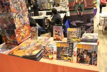 Comics for sale during the 2019 NerdTino Expo in North Philadelphia. Photo: Jensen Toussaint/AL DÍA News.