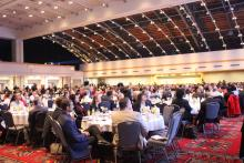 Hundreds of people gathered at the Pennsylvania Convention Center to celebrate the Urban Affairs Coalition's 50th anniversary during its annual breakfast on Friday, Nov. 22. Photo: Jensen Toussaint/AL DÍA News.