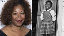 Ruby Bridge, una de las primeras alumnas afroamericanas que asistió a una escuela públicano segregada.Photo: Reporter
