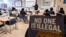 """""""Este currículo modelo, el primero del país, mostrará a otros estados lo que es posible"""", Luis Alejo. Photo: S.B"""