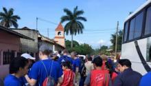 Filadelfia presente en misión de alivio médico en Honduras
