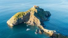 La isla de San Juan Gaztelugatxees unode los espacioso naturalesmásvisitados del PaísVasco. Foto:Willian Justen de Vasconcellos