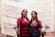 Lila Downs and Sara Curruchich in new collaboration for the International Day of Indigenous Peoples.