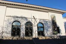 Frontage of the Santa Barbara Museum of Art in California.