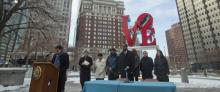 Una 'visión compartida' para Love Park de Center City